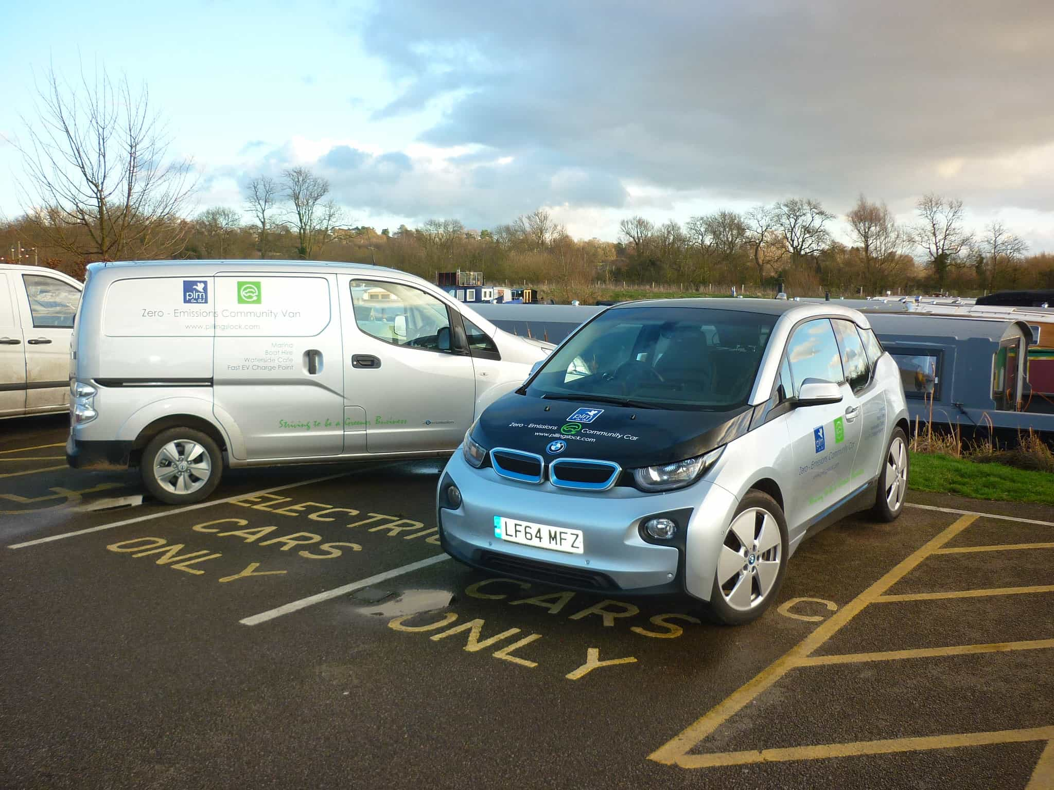 BMW i3 Electric Car 1