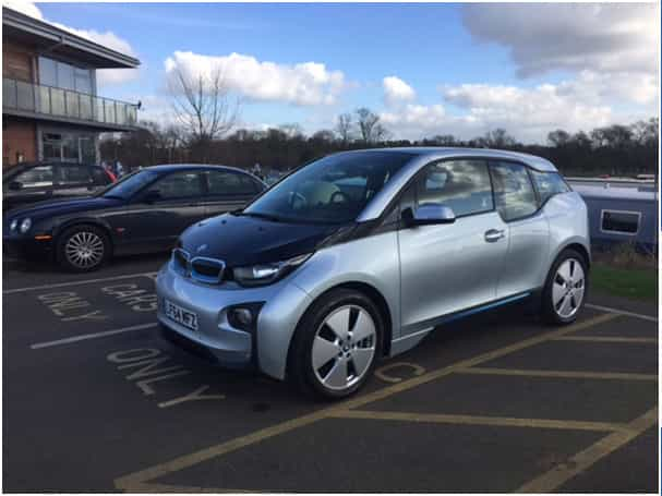 BMW i3 Electric Car 3
